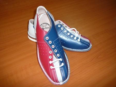 Bowlingová obuv červenomodrá